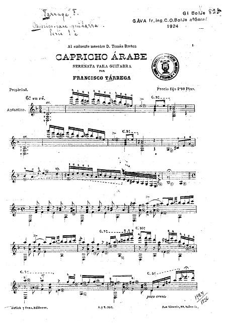 Miniatura di partitura